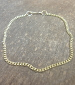 Beautiful gold chain bracelet